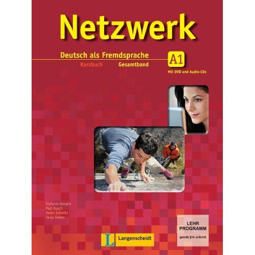 Stefanie Dengler - Netzwerk / Kursbuch A1 mit 2 DVDs und 2 Audio-CDs: Deutsch als Fremdsprache - Preis vom 21.10.2019 05:04:40 h