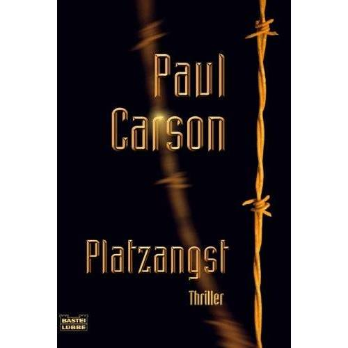 Paul Carson - Platzangst - Preis vom 16.01.2021 06:04:45 h