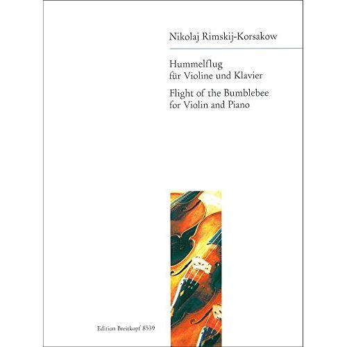 Nikolaj Rimskij-Korsakow - Hummelflug aus: Das Märchen vom Zar Saltan - Bearbeitung für Cello Klavier (EB 8539) - Preis vom 23.01.2021 06:00:26 h
