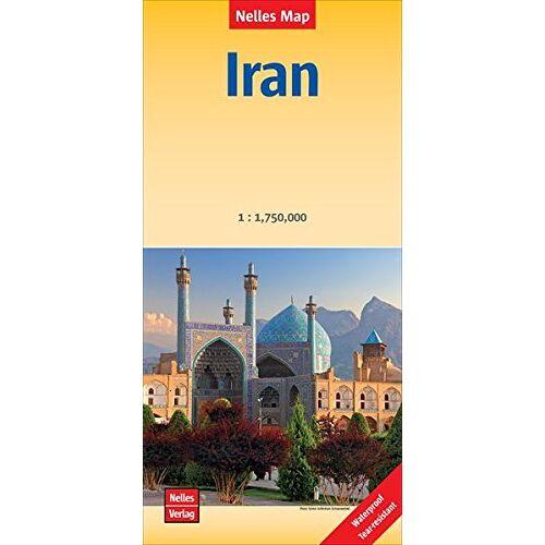 Nelles Map - Iran - Irán: 1:1.750.000   reiß- und wasserfest; waterproof and tear-resistant; indéchirable et imperméable; irrompible & impermeable (Nelles Map) - Preis vom 23.02.2021 06:05:19 h