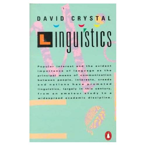 David Crystal - Linguistics (Penguin language & linguistics) - Preis vom 07.05.2021 04:52:30 h