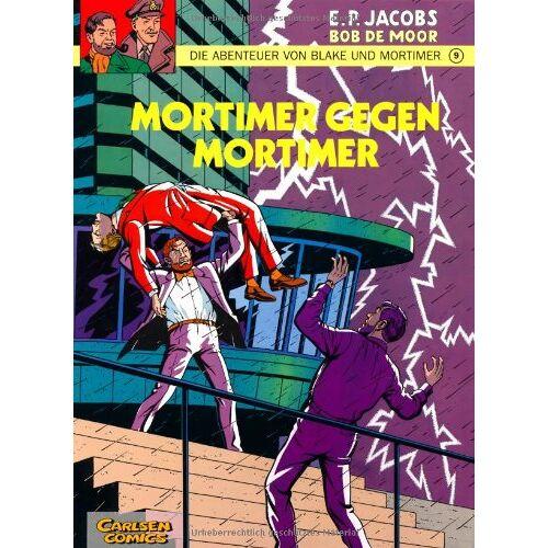 Edgar-Pierre Jacobs - Die Abenteuer von Blake und Mortimer, Bd.9, Mortimer gegen Mortimer - Preis vom 03.09.2020 04:54:11 h
