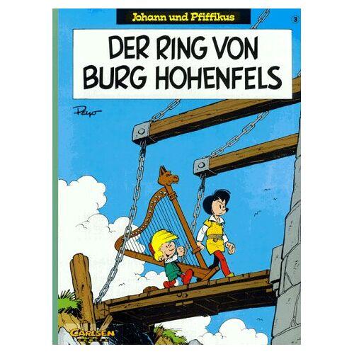 Peyo - Johann und Pfiffikus, Bd.3, Der Ring von Burg Hohenfels - Preis vom 10.09.2020 04:46:56 h