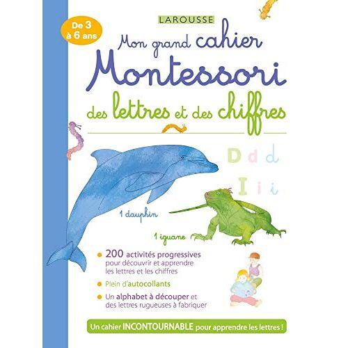 - Mon grand cahier MONTESSORI des lettres et des chiffres (cahiers Montessori) - Preis vom 05.05.2021 04:54:13 h