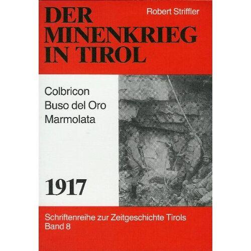 Robert Striffler - Der Minenkrieg in Tirol - 1917: Colbricon-Buso del Oro - Marmolata - Preis vom 18.04.2021 04:52:10 h