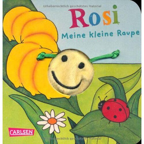 Anna Taube - Fingerpuppen-Bücher: Rosi, meine kleine Raupe - Preis vom 20.10.2020 04:55:35 h