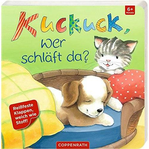 - Kuckuck, wer schläft da?: Mit reißfesten und speichelfesten Klappen - Preis vom 28.02.2021 06:03:40 h