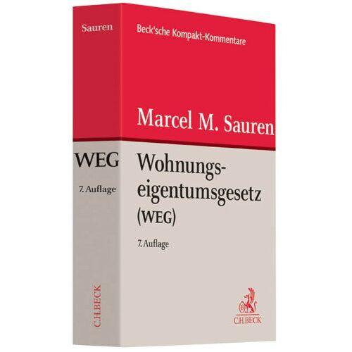 Sauren, Marcel M. - Wohnungseigentumsgesetz: Gesetz über das Wohnungseigentum und das Dauerwohnrecht - Preis vom 22.01.2021 05:57:24 h