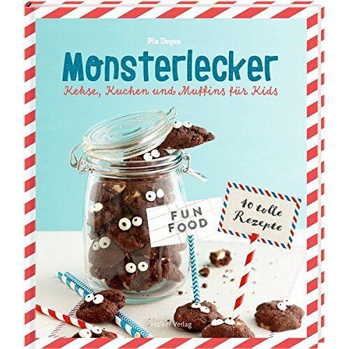 Pia Deges - Monsterlecker: Kekse, Kuchen und Muffins für Kids - Preis vom 05.05.2021 04:54:13 h