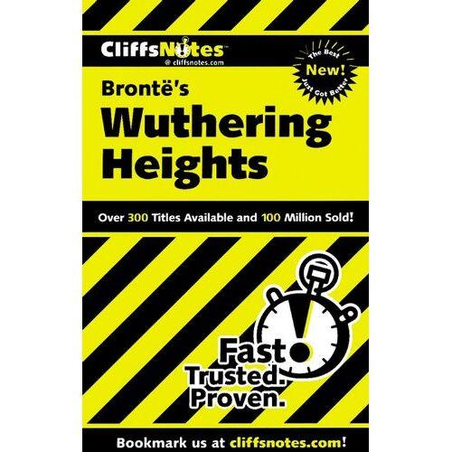Wasowski, Richard P. - Cliffs Notes on Brontë's Wuthering Heights - Preis vom 22.04.2021 04:50:21 h