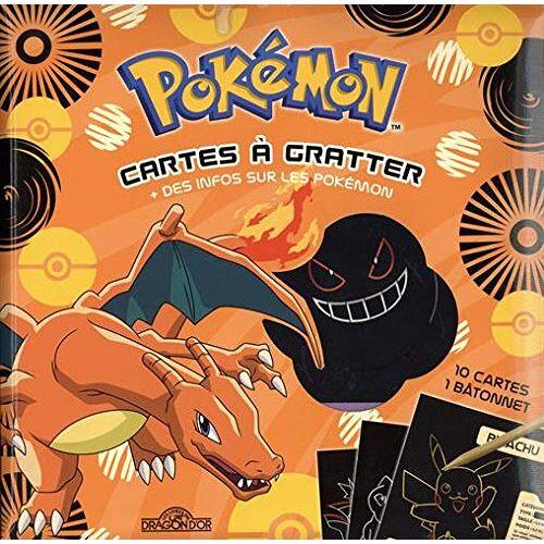 - Pokémon - Cartes à gratter + des infos sur les Pokémon (Dracaufeu) - Preis vom 15.01.2021 06:07:28 h