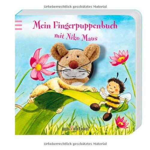Andrea Gerlich - Mein Fingerpuppenbuch mit Niko Maus (Fingerpuppenbücher) - Preis vom 25.02.2021 06:08:03 h