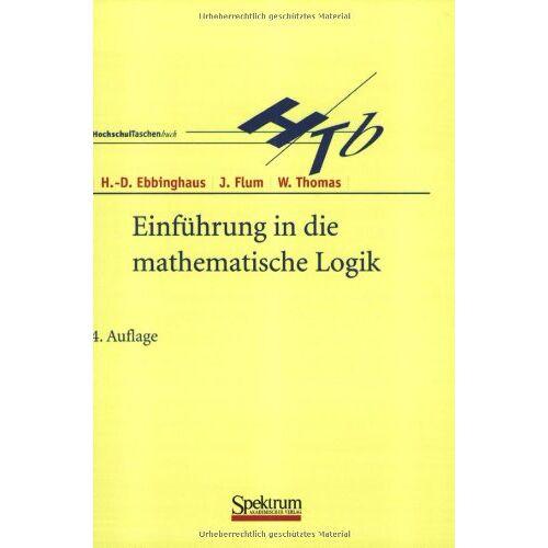 Ebbinghaus, Heinz D. - Einführung in die mathematische Logik (Sav Mathematik) - Preis vom 08.05.2021 04:52:27 h