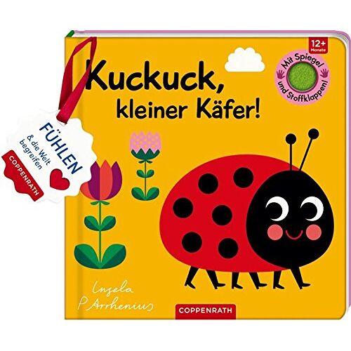 - Mein Filz-Fühlbuch: Kuckuck, kleiner Käfer!: Fühlen und die Welt begreifen - Preis vom 20.10.2020 04:55:35 h