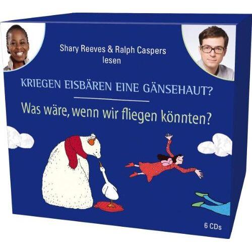 Isabelle Auerbach - CD WISSEN Junior - Kriegen Eisbären eine Gänsehaut? / Was wäre, wenn wir fliegen könnten? Sammelbox, 6 CDs - Preis vom 20.10.2020 04:55:35 h