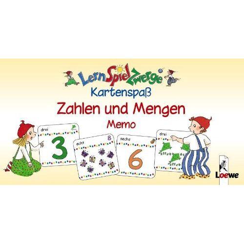 - LernSpielZwerge, Kartenspaß : Zahlen und Mengen Memo (Kinderspiel) - Preis vom 10.05.2021 04:48:42 h