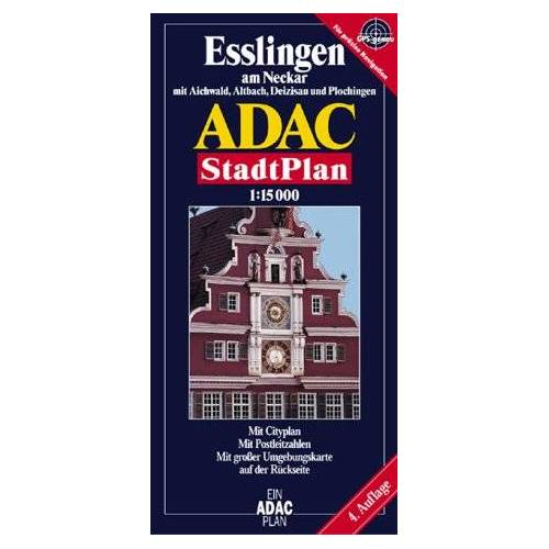 - ADAC Stadtpläne, Esslingen am Neckar mit Altbach, Deizisau und Plochingen - Preis vom 20.10.2020 04:55:35 h