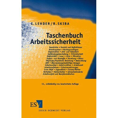Günter Lehder - Taschenbuch Arbeitssicherheit - Preis vom 05.09.2020 04:49:05 h