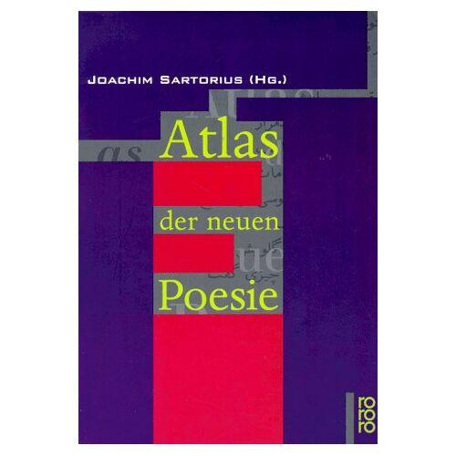Joachim Sartorius - Atlas der neuen Poesie - Preis vom 03.05.2021 04:57:00 h