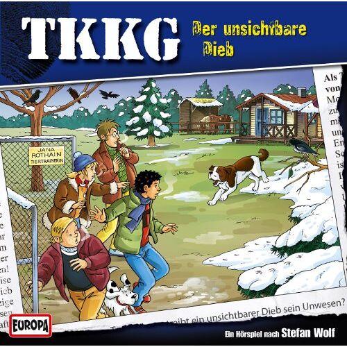 Tkkg - 185/der Unsichtbare Dieb - Preis vom 16.05.2021 04:43:40 h