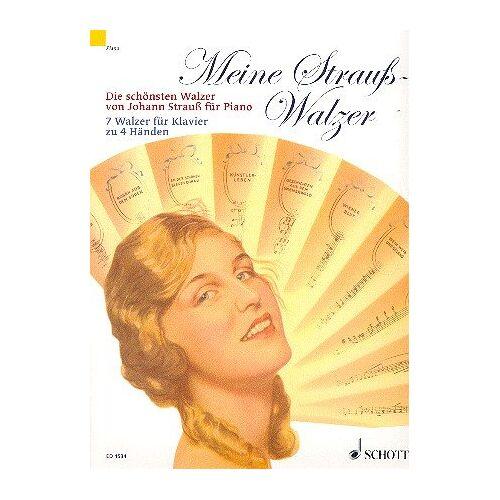 - Meine Strauß-Walzer: Die schönsten Walzer von Johann Strauß. Klavier 4-händig. - Preis vom 10.04.2021 04:53:14 h