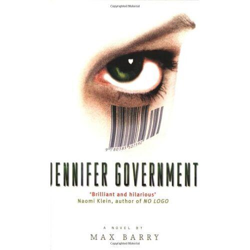 Max Barry - Jennifer Government - Preis vom 18.04.2021 04:52:10 h