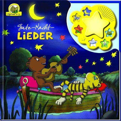 Janosch - Janosch Tigerente & Co. - Gute-Nacht-Lieder, Liederbuch mit Nachtlicht und Klangleiste - Preis vom 20.10.2020 04:55:35 h