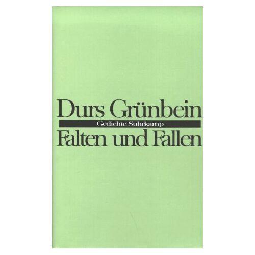 Durs Grünbein - Falten und Fallen. Gedichte - Preis vom 02.12.2020 06:00:01 h