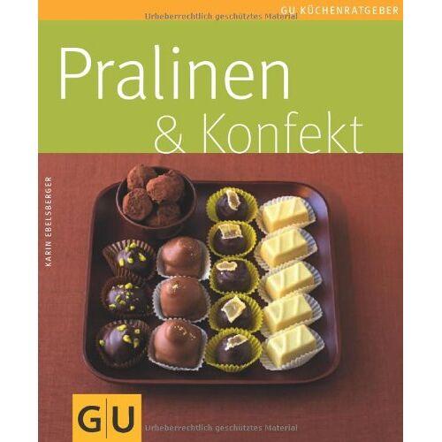 Karin Ebelsberger - Set Pralinen & Konfekt: Mit 3 Pralinengabeln und 375 Papierförmchen: Pralinen und Konfekt (GU Buch plus) - Preis vom 17.01.2021 06:05:38 h