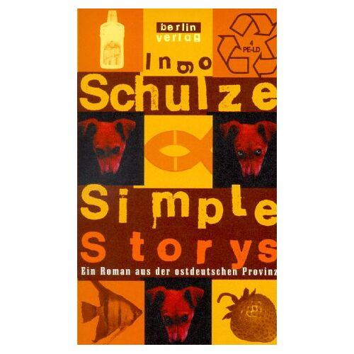 Ingo Schulze - Simple Storys. Ein Roman aus der ostdeutschen Provinz. - Preis vom 13.04.2021 04:49:48 h
