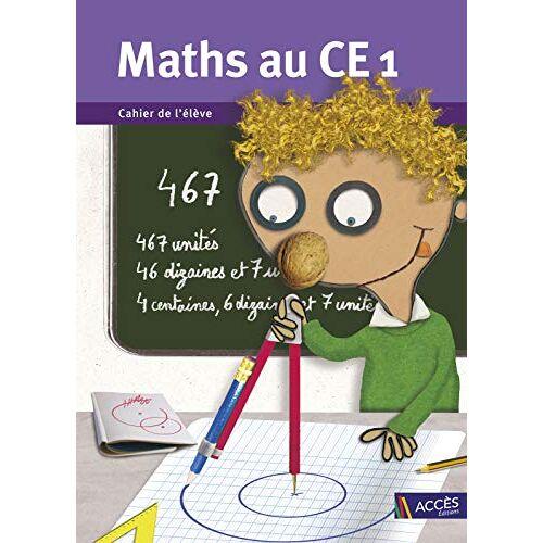 Gaëtan Duprey - Maths au CE1 Cahier de l'Eleve (Lot de 5 Ex.) - Preis vom 27.02.2021 06:04:24 h