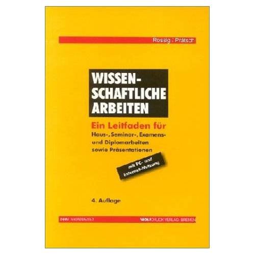 - Wissenschaftliche Arbeiten - Preis vom 17.11.2020 05:49:32 h