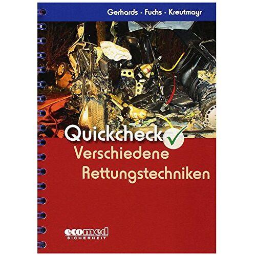 Frank Gerhards - Quickcheck Verschiedene Rettungstechniken - Preis vom 23.01.2020 06:02:57 h