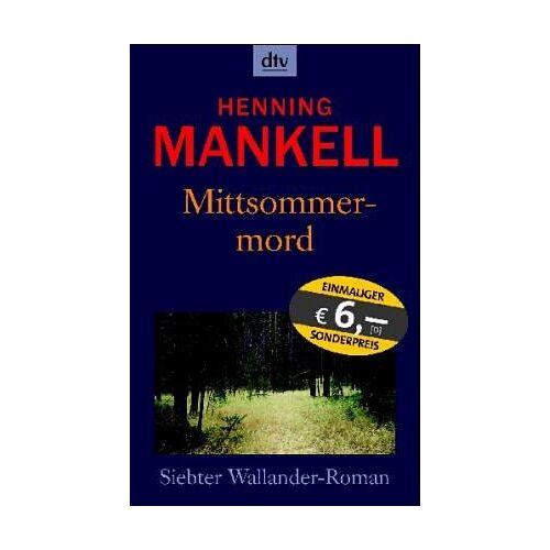 Henning Mankell - Mittsommermord . - Preis vom 02.06.2020 05:03:09 h