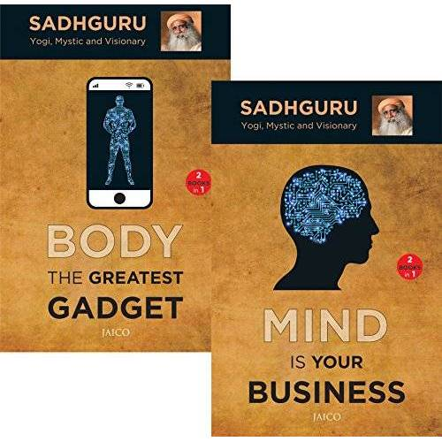 Sadhguru - Mind is Your Business / Body the Greatest Gadget: (Set of 2 Books) - Preis vom 27.02.2021 06:04:24 h