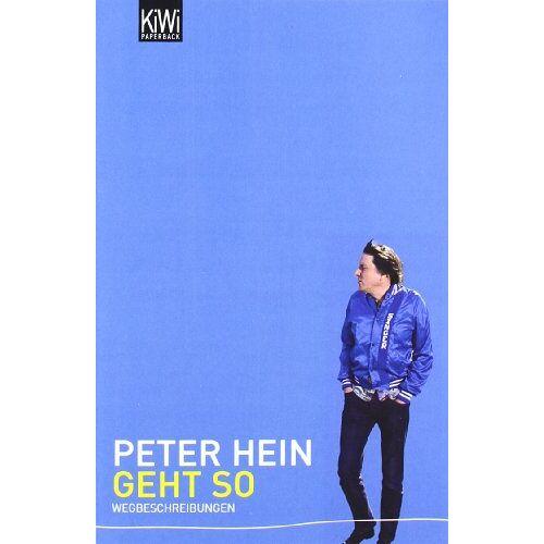 Peter Hein - Geht so: Wegbeschreibungen - Preis vom 09.05.2021 04:52:39 h