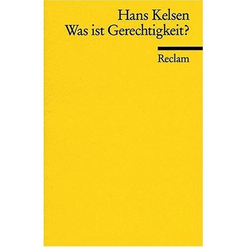 Hans Kelsen - Was ist Gerechtigkeit? - Preis vom 13.05.2021 04:51:36 h
