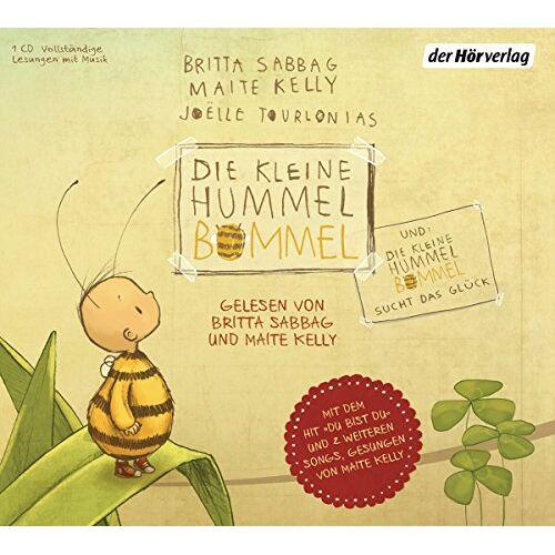 Britta Sabbag - Die kleine Hummel Bommel: und Die kleine Hummel Bommel sucht das Glück - Preis vom 16.05.2021 04:43:40 h