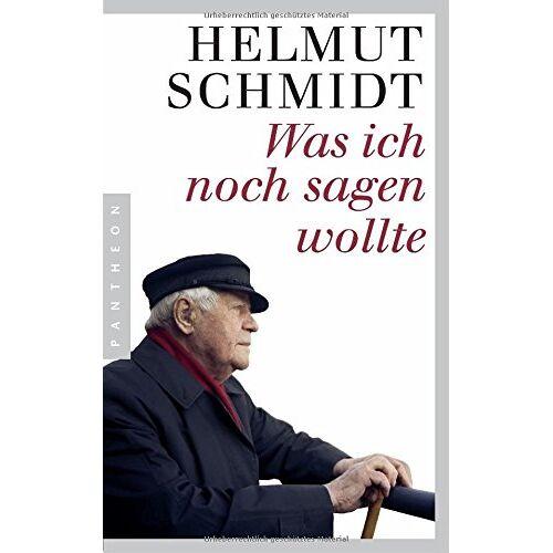 Helmut Schmidt - Was ich noch sagen wollte - Preis vom 29.07.2020 04:53:17 h