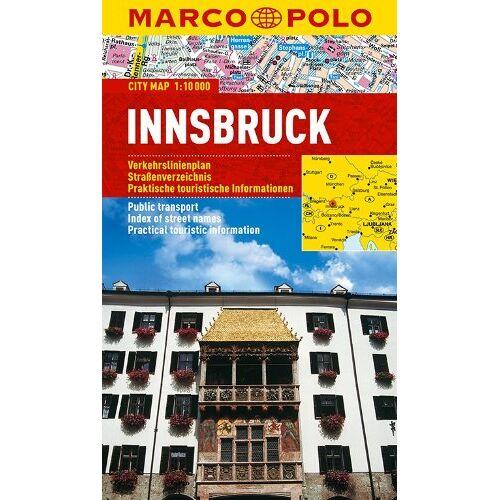 Marco Polo - MARCO POLO Cityplan Innsbruck 1:10 000 (Marco Polo City Maps) - Preis vom 19.02.2020 05:56:11 h