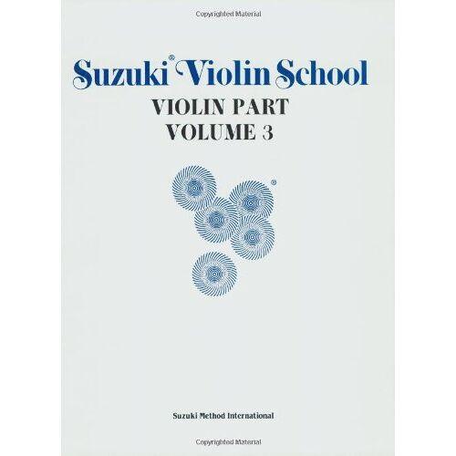 Suzuki Violin School, Vol 3: Violin Part: 003 (Suzuki Violin School, Violin Part) - Preis vom 27.02.2021 06:04:24 h