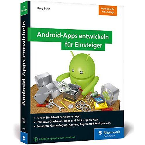 Uwe Post - Android-Apps entwickeln für Einsteiger: Schritt für Schritt zur eigenen Android-App mit Java. Aktuell zu Android Studio 3.3 - Preis vom 17.04.2021 04:51:59 h