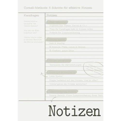 Andrea Windolph - Cornell-Notizbuch, 100 A4-Seiten, liniert - Preis vom 28.02.2021 06:03:40 h