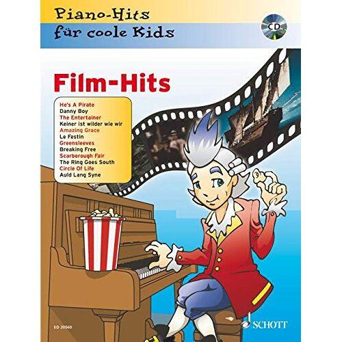 Jürgen Krekel - Film-Hits: Piano-Hits für coole Kids. Klavier. Ausgabe mit CD. - Preis vom 19.04.2021 04:48:35 h
