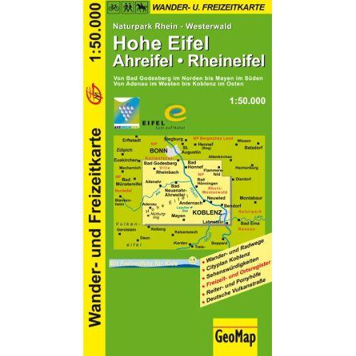 GeoMap - Hohe Eifel - Ahreifel - Rheineifel 1 : 50 000. Wander- und Freizeitkarte - Preis vom 03.05.2021 04:57:00 h