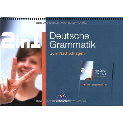 Dorothea Ader - 2 in 1 zum Nachschlagen: 2 in 1. Deutsche Grammatik zum Nachschlagen. - Preis vom 15.04.2021 04:51:42 h