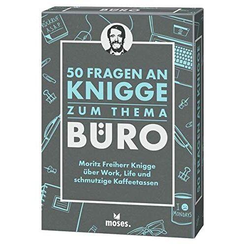 Moritz Freiher Knigge - 50 Fragen an Kniggezum Thema Büro: Moritz Freiherr Knigge über Work, Life und schmutzigen Kaffeetassen - Preis vom 01.03.2021 06:00:22 h