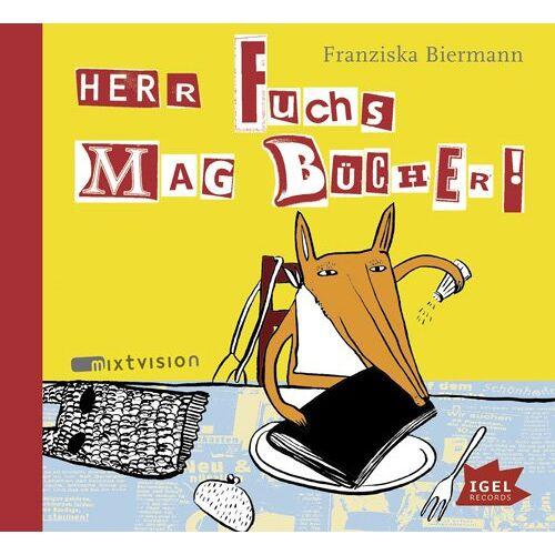 Franziska Biermann - Herr Fuchs mag Bücher - Preis vom 24.02.2021 06:00:20 h