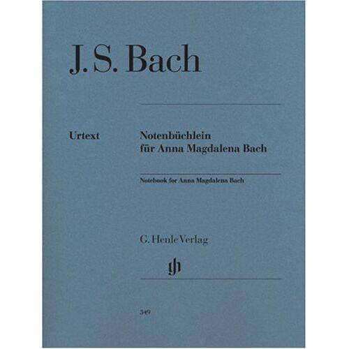 Bach, Johann Sebastian - Notenbüchlein für Anna Magdalena Bach 1725. Klavier - Preis vom 18.04.2021 04:52:10 h