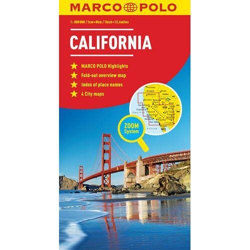 Marco Polo - California Marco Polo Map (Marco Polo Maps) - Preis vom 20.02.2020 05:58:33 h